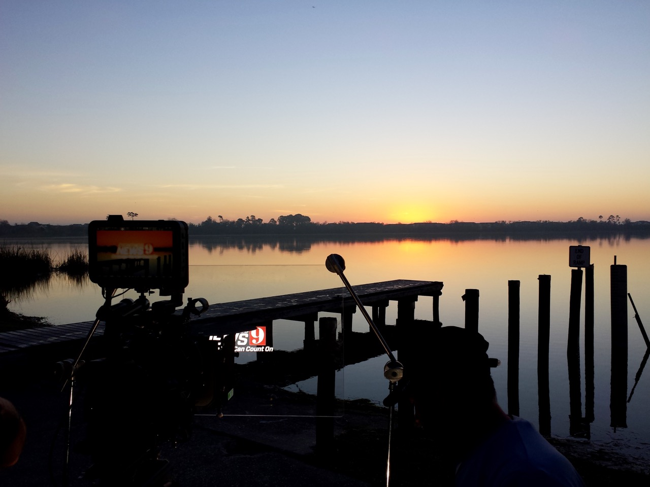 VIDEO PRODUCTION ON THE LAKE IN ORLANDO